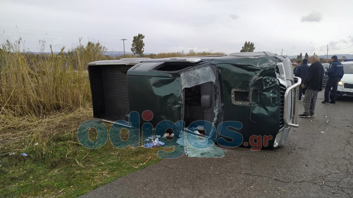 Πύργος: Δύο τραυματίες σε εκτροπή αυτοκινήτου στο δρόμο προς Σπιάντζα